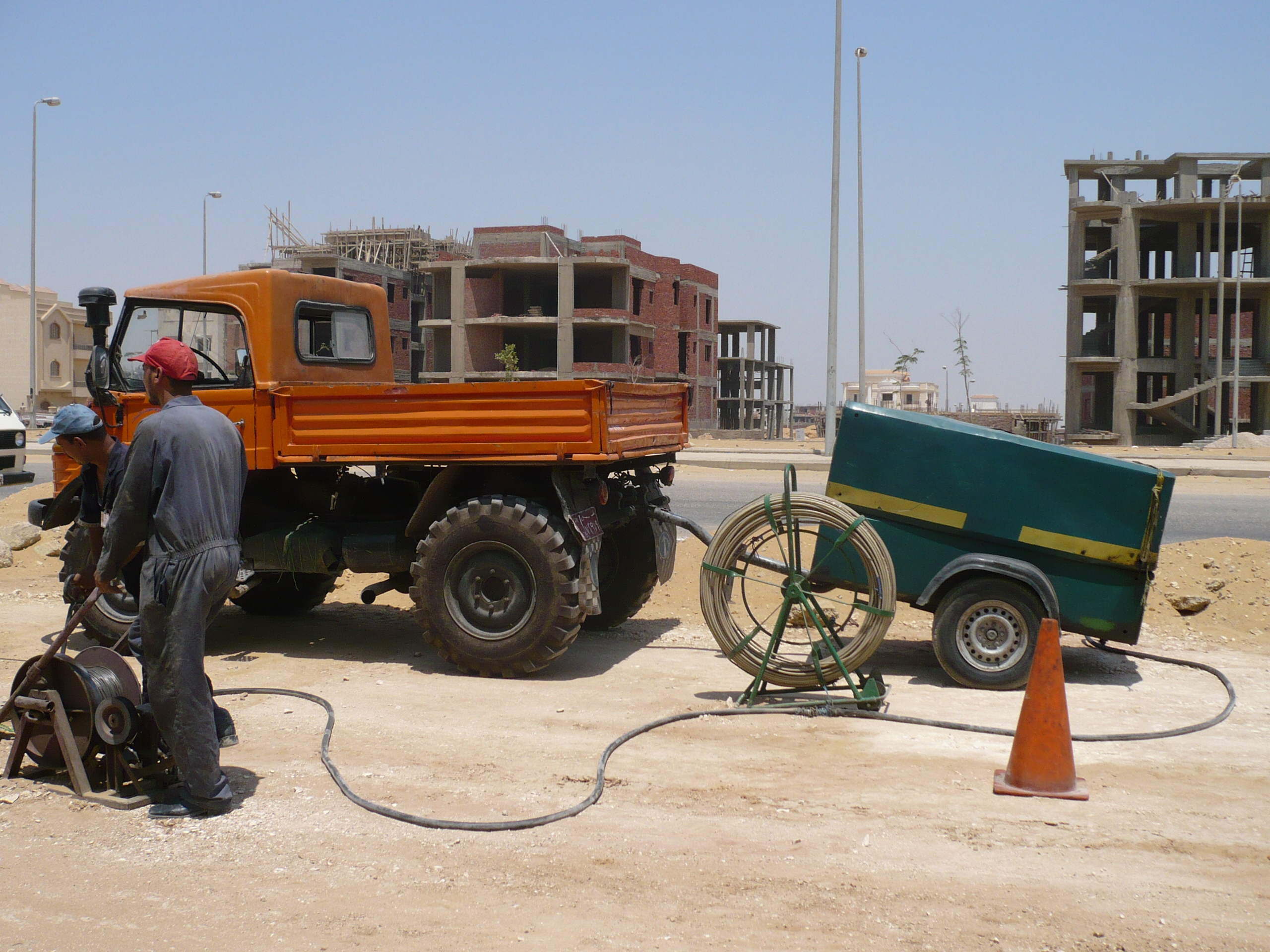 Greater Cairo Local Cable Network Maintenance