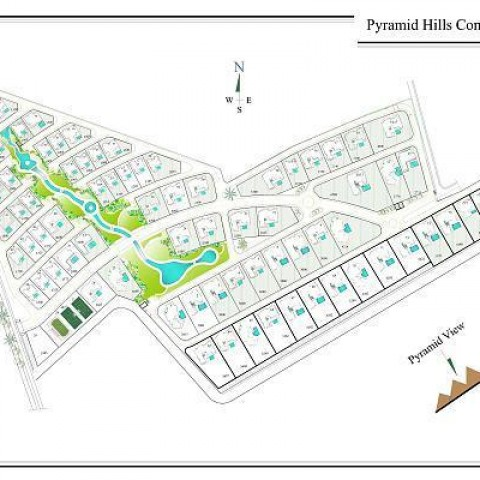 Pyramids Hills Compound Network